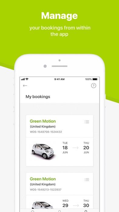 messages.download Green Motion Car Rental software