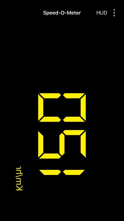 SpeedoMeter GPS - Odometer screenshot-7