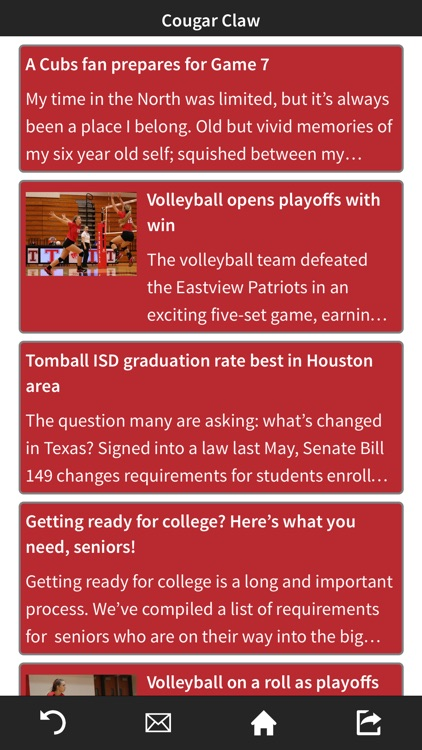 Tomball High School by Mobile Inventor Corp