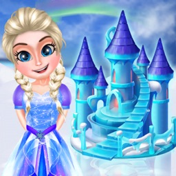 Ice Doll House Designing Game