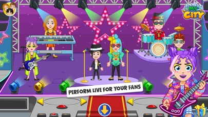 My City : Popstar screenshot 2