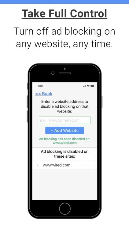Ad Remover - Ad Blocker screenshot-4