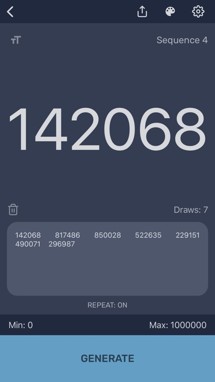 Random Number Generator - Pro screenshot-4