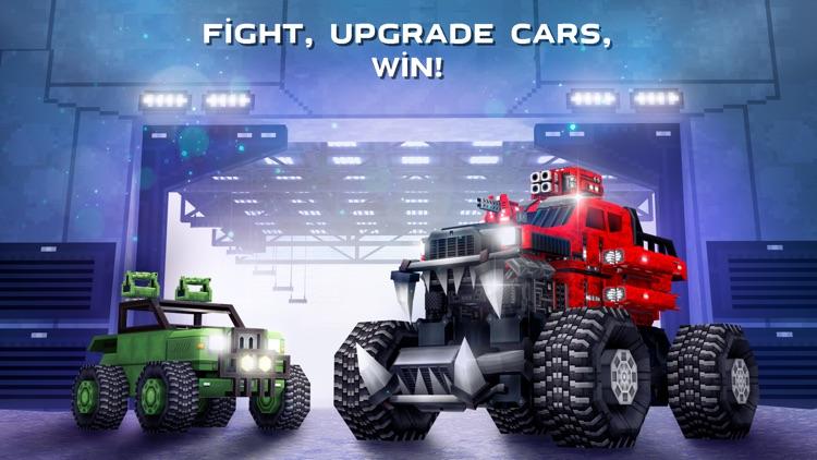 Blocky Cars Online - tank wars screenshot-4
