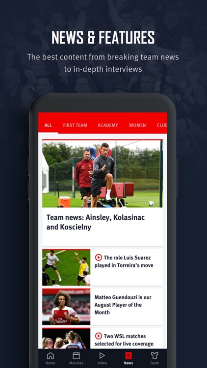 Arsenal screenshot-4
