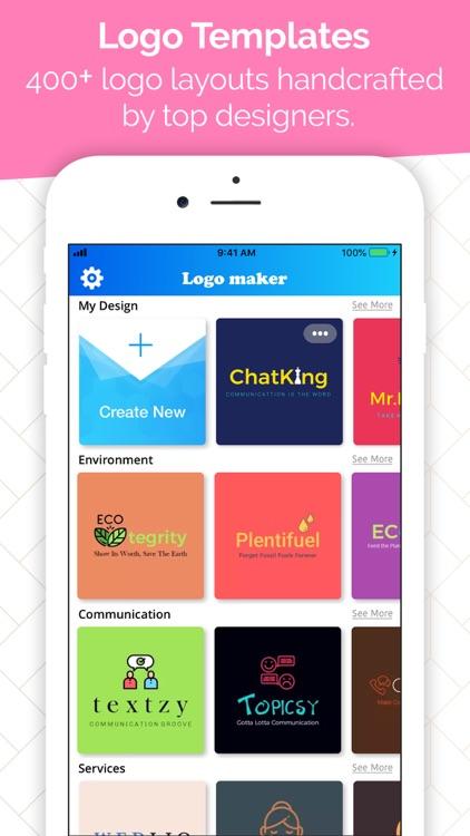 Logo Maker - Icon Creator screenshot-3