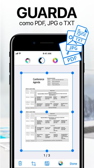 Descargar iScanner - Escáner PDF para Android