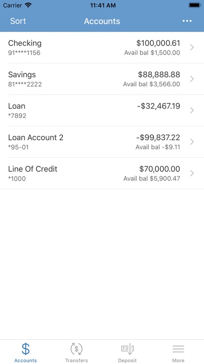 Security State Bank for iPhone