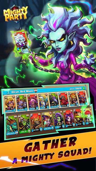 Mighty Party: Battle Heroes screenshot 3