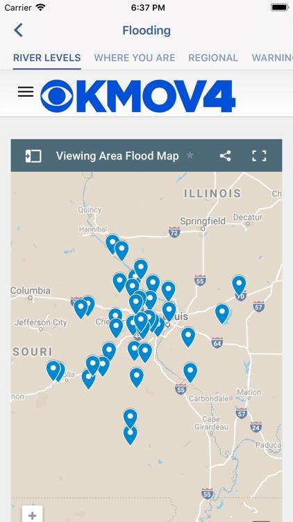 KMOV Weather - St. Louis screenshot-3