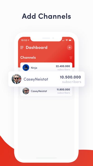 YTCount – Subscriber Countのおすすめ画像2