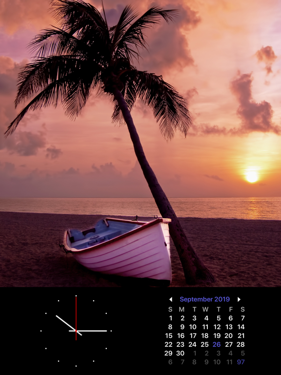 Photo Frame Calendar & Clock Screenshots