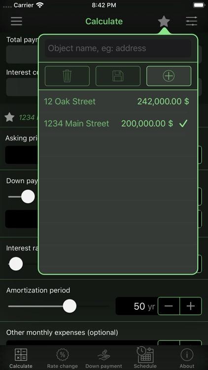 Home Mortgage Calculator screenshot-3