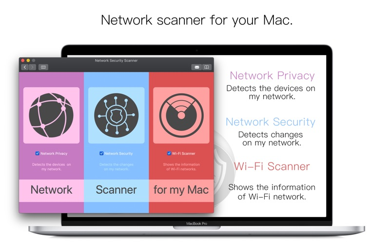 Screenshot #1 for Network Security Scanner - NSS