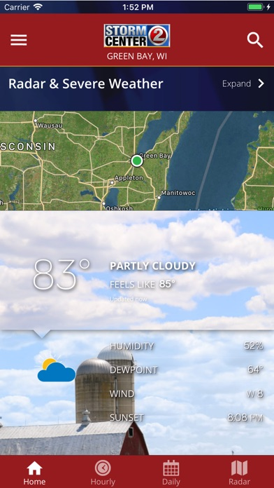 Top 10 Apps like Wbay Radar Stormcenter 2 On The Go for iPhone & iPad