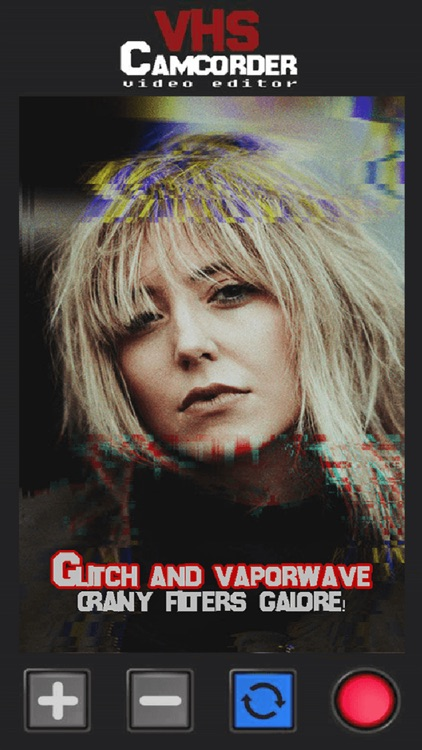 VHS Cam - Glitch Video Editor screenshot-4
