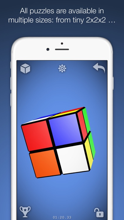 Magic Cube Puzzle 3D screenshot-3