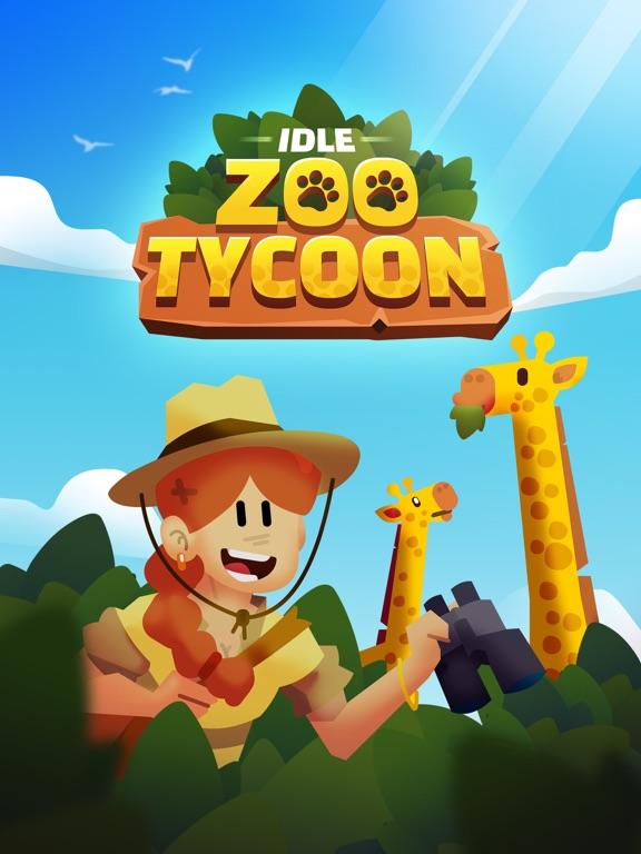 Idle Zoo Tycoon 3D iPad app afbeelding 1