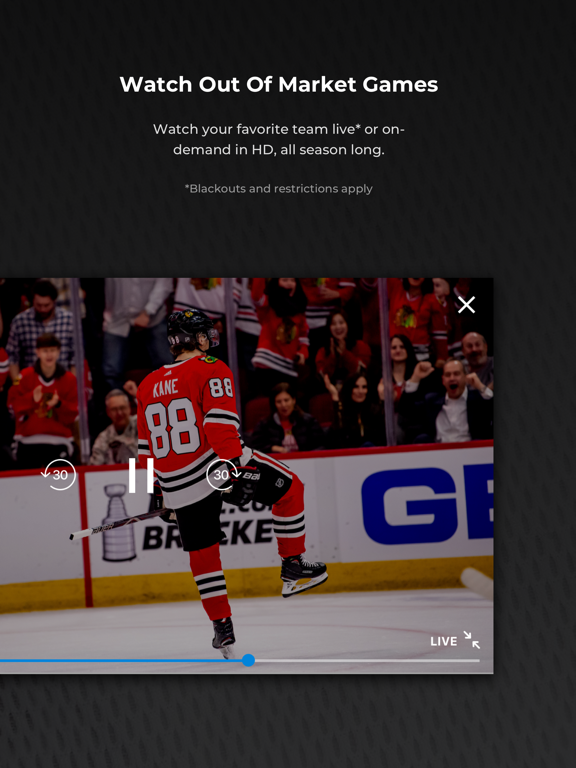 NHL GameCenter™ screenshot