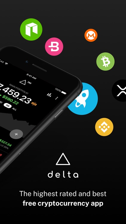 Delta Bitcoin & Crypto Tracker screenshot-1