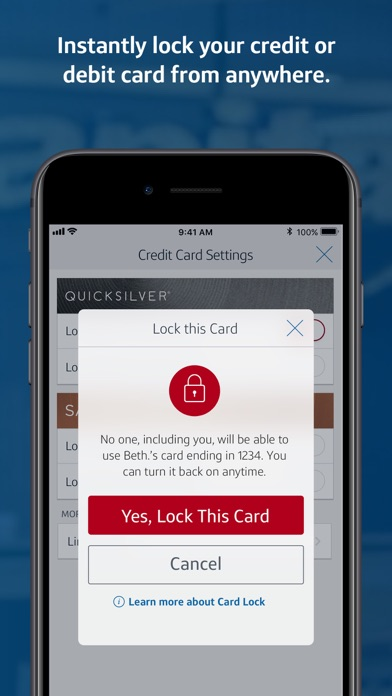 Capital One Mobile review screenshots