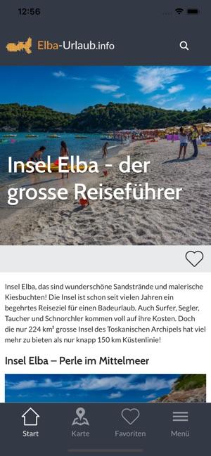 Elba Karte.Elba Der Grosse Reiseführer