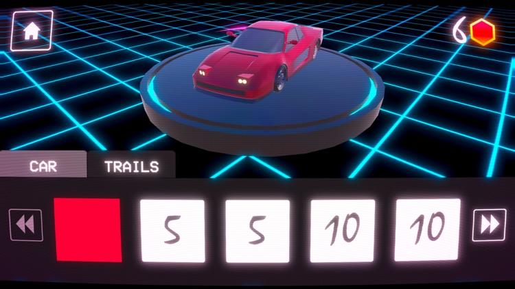 OverDrive - Synthwave Racer screenshot-4