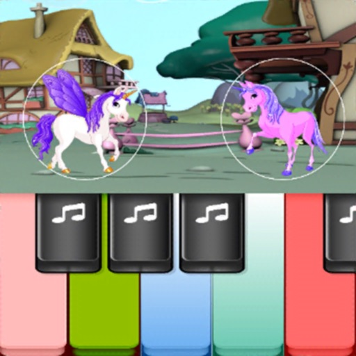Pony Colorful Piano Tiles