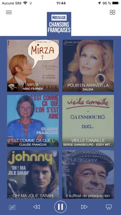 Nostalgie Radio sur pc