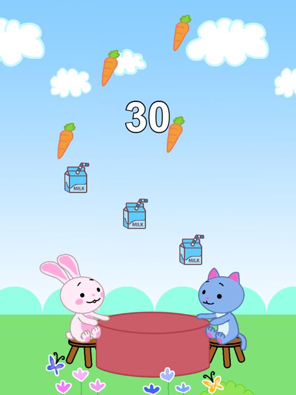 Ipad Screen Shot Grabby Food: Easy Fun 1
