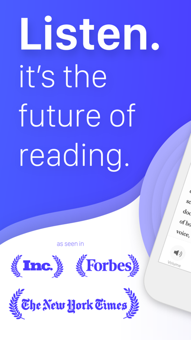 Speechify - Text to Speech Screenshot