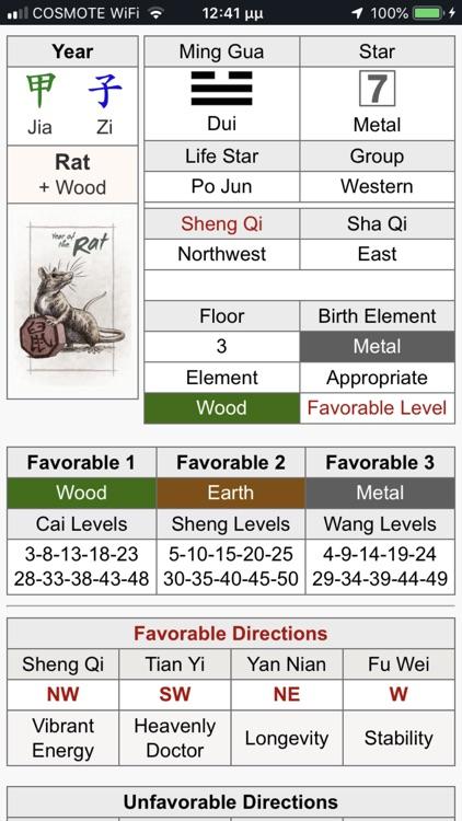 Feng Shui Calc Professional screenshot-6