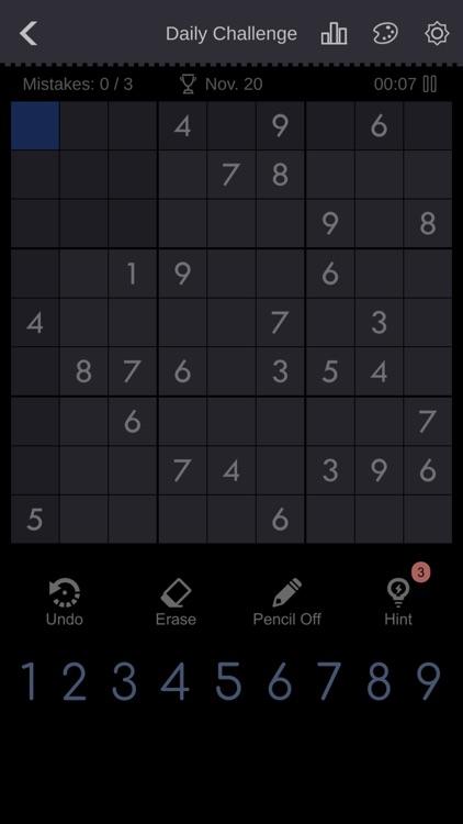 Sudoku - Classic Sudoku screenshot-7