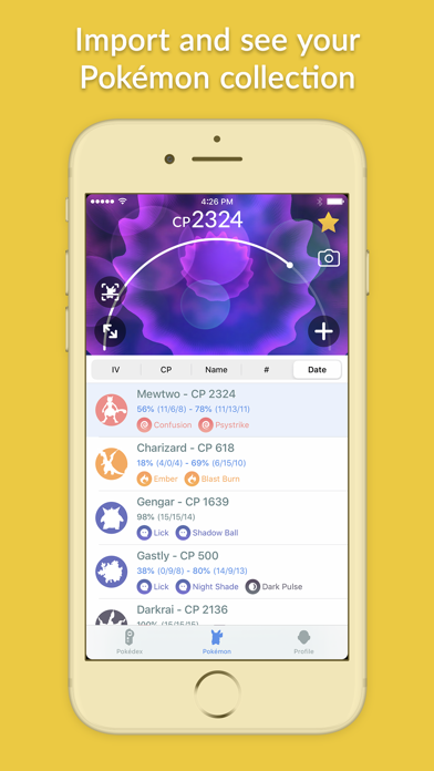 Screenshot #3 pour Pocketdex for Pokémon GO
