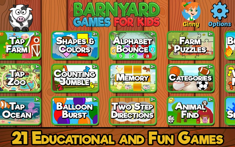 Barnyard Games For Kids screenshot 1