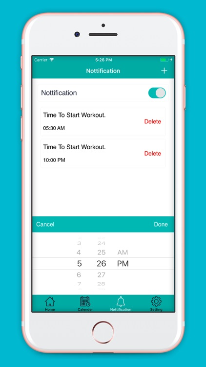 Home Exercise : Daily Workout screenshot-5