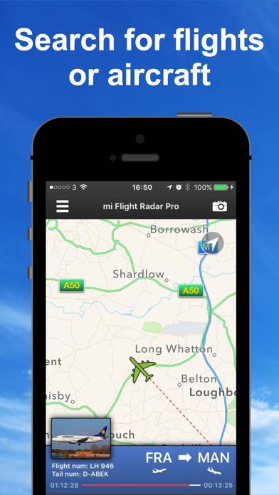 Screenshot for mi Flight Radar Pro - Tracker in Azerbaijan App Store