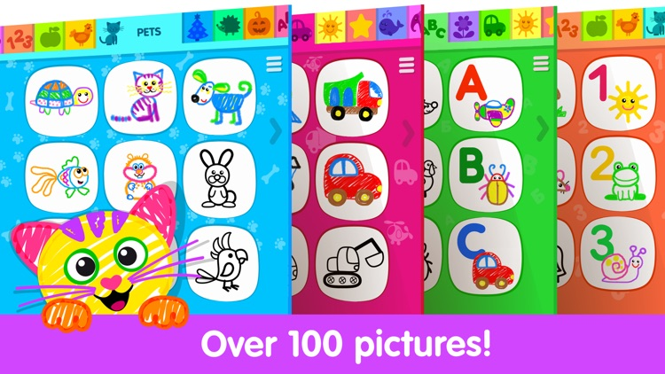 Drawing Apps for Kids & Games screenshot-0
