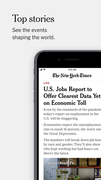 The New York Times screenshot one