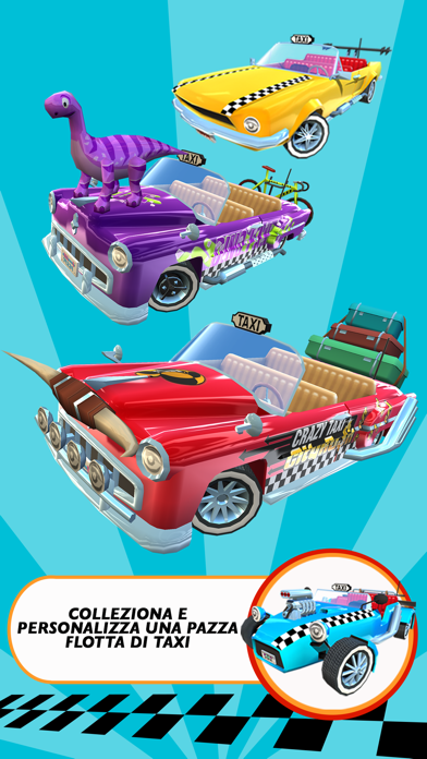 Screenshot of Crazy Taxi™ City Rush4