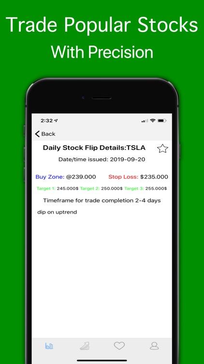 Daily Stock Flip - Swing Trade screenshot-3