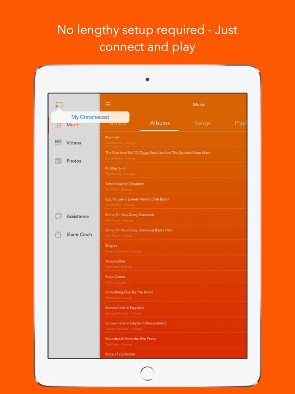Cinch for Chromecast Screenshots