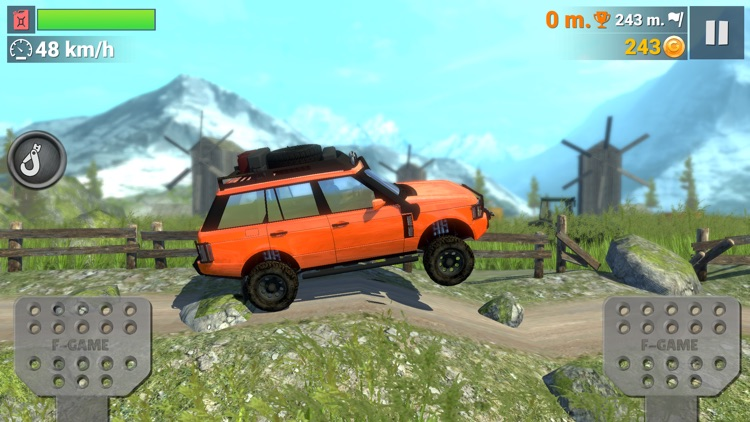 Off-Road Travel: Road to Hill screenshot-0