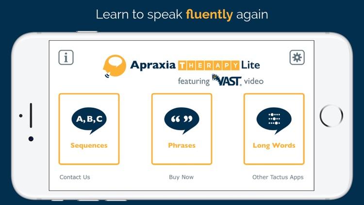 Apraxia Therapy Lite screenshot-0