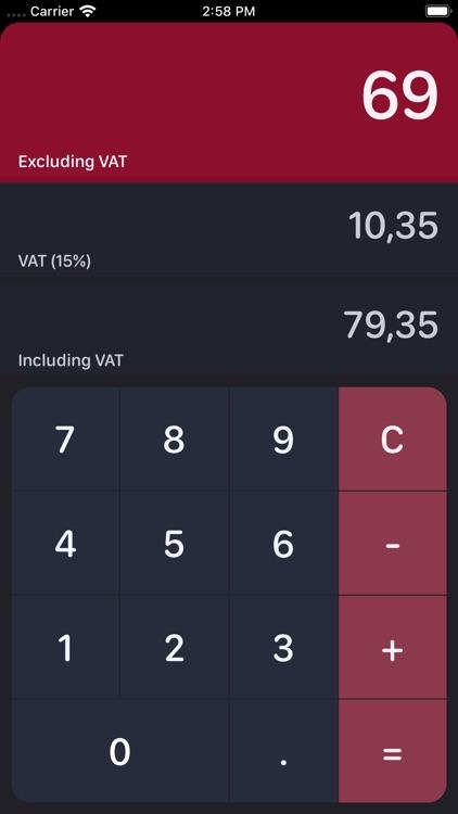 South African VAT Calculator screenshot-3