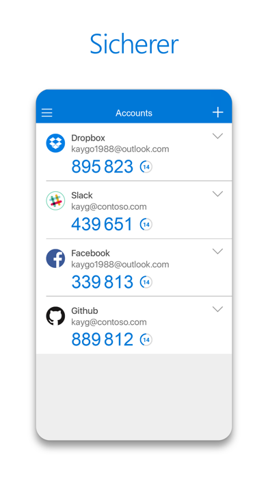 Herunterladen Microsoft Authenticator für Pc