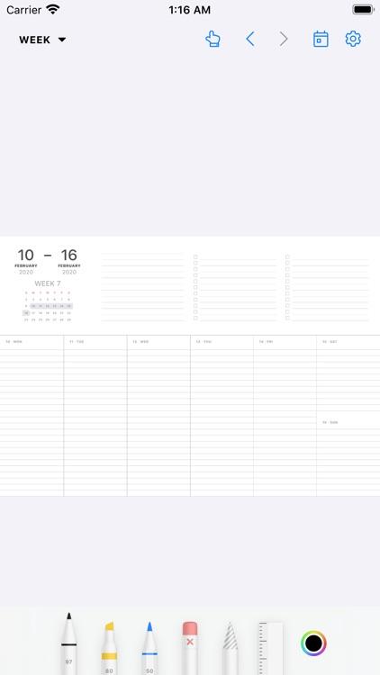 Pencil Planner & Draw Calendar screenshot-4