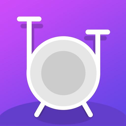 Drum games app - drums beats