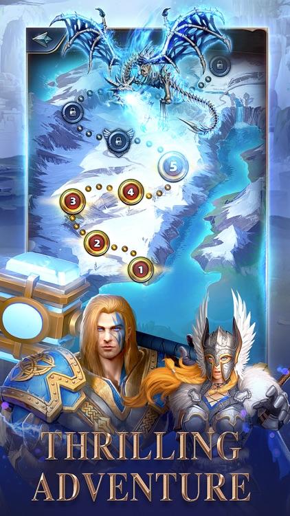 MythWars & Puzzles:RPG Match 3 screenshot-5