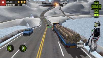 Ice Road Truck Parking Simのおすすめ画像1